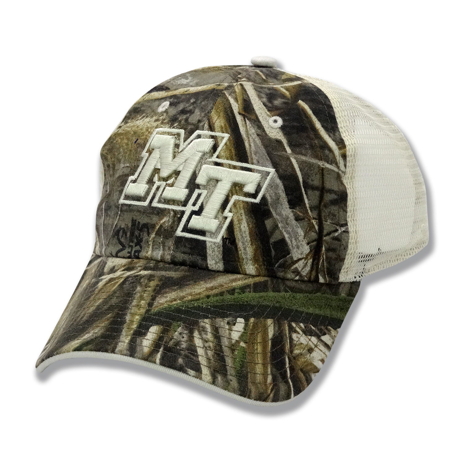 MT Logo Camo Trucker Hat