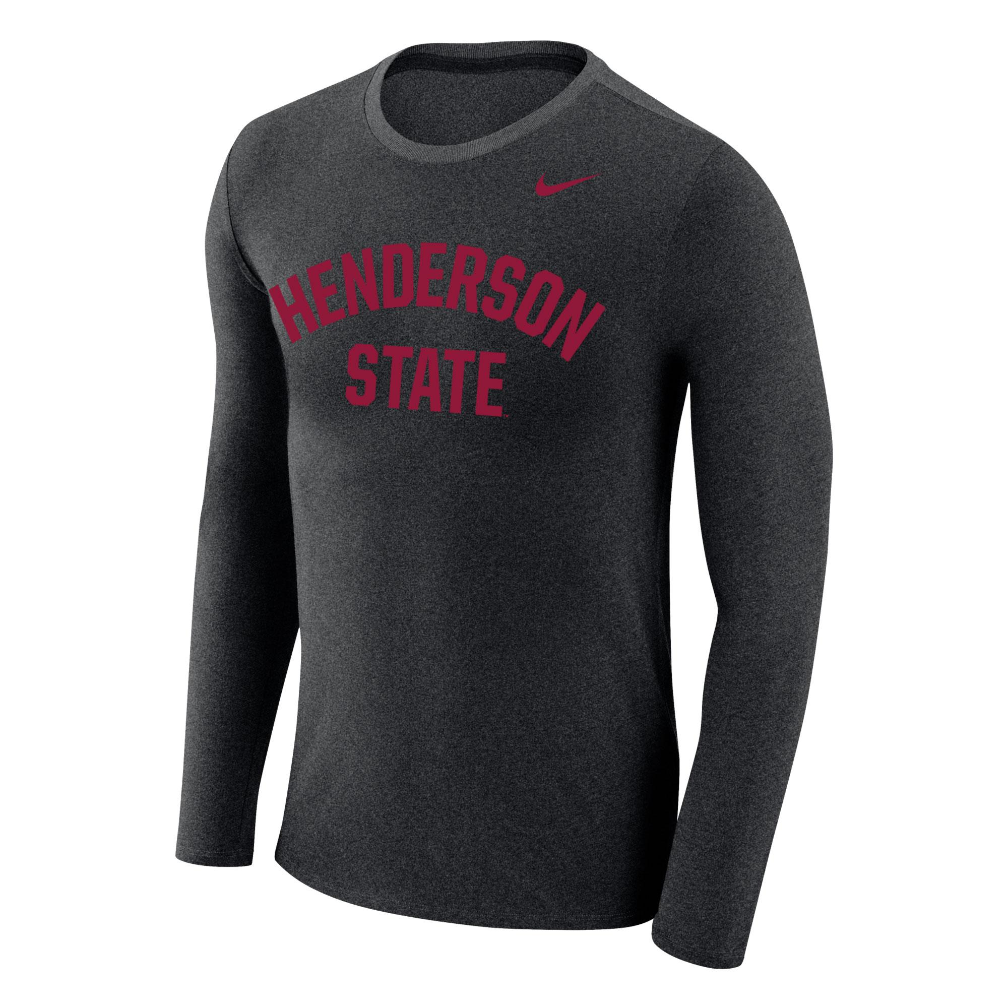 Henderson State Marled LS Tee