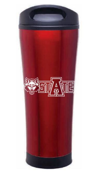 Arkansas State 18oz Tumbler
