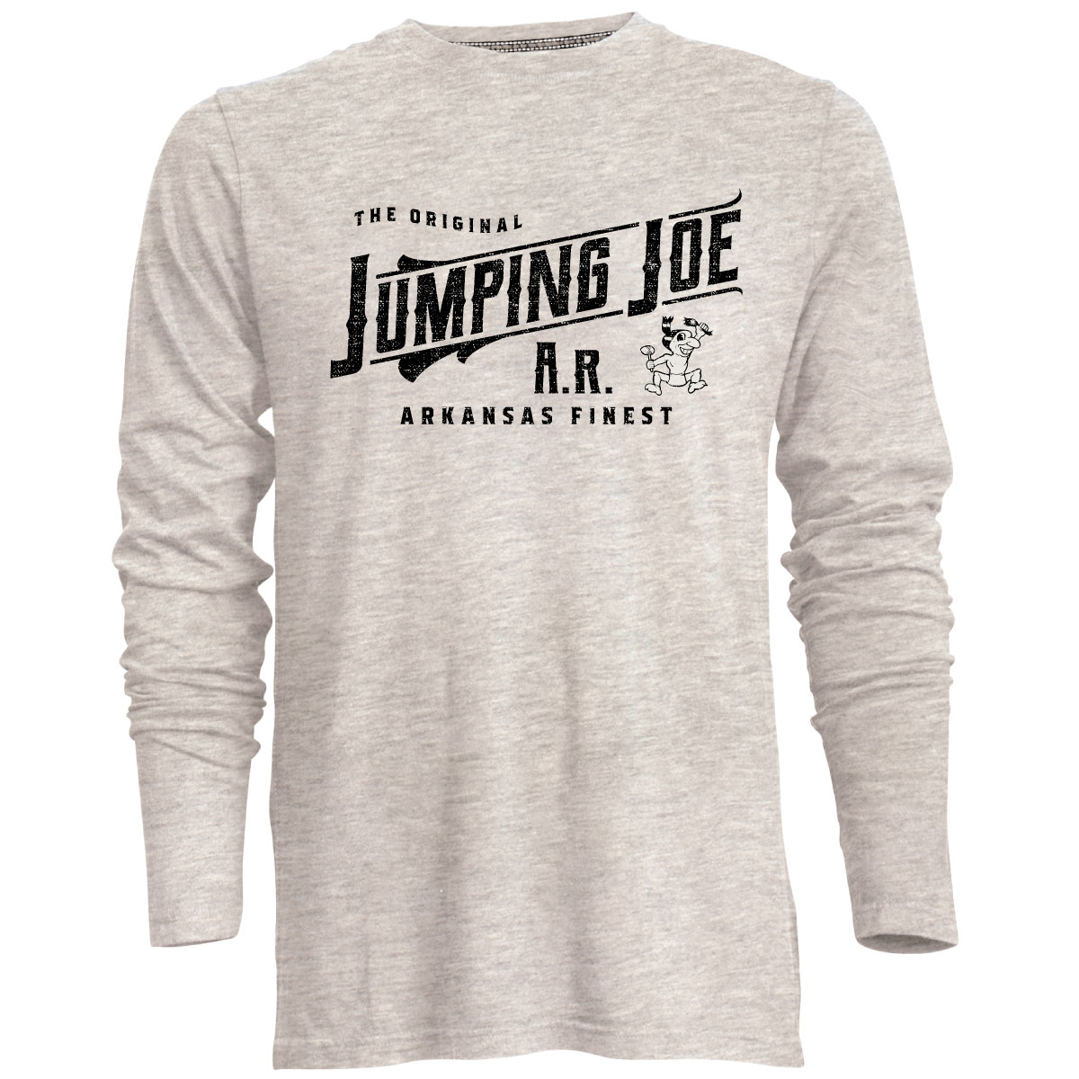 Jumping Joe Arkansas Finest L/S Tee