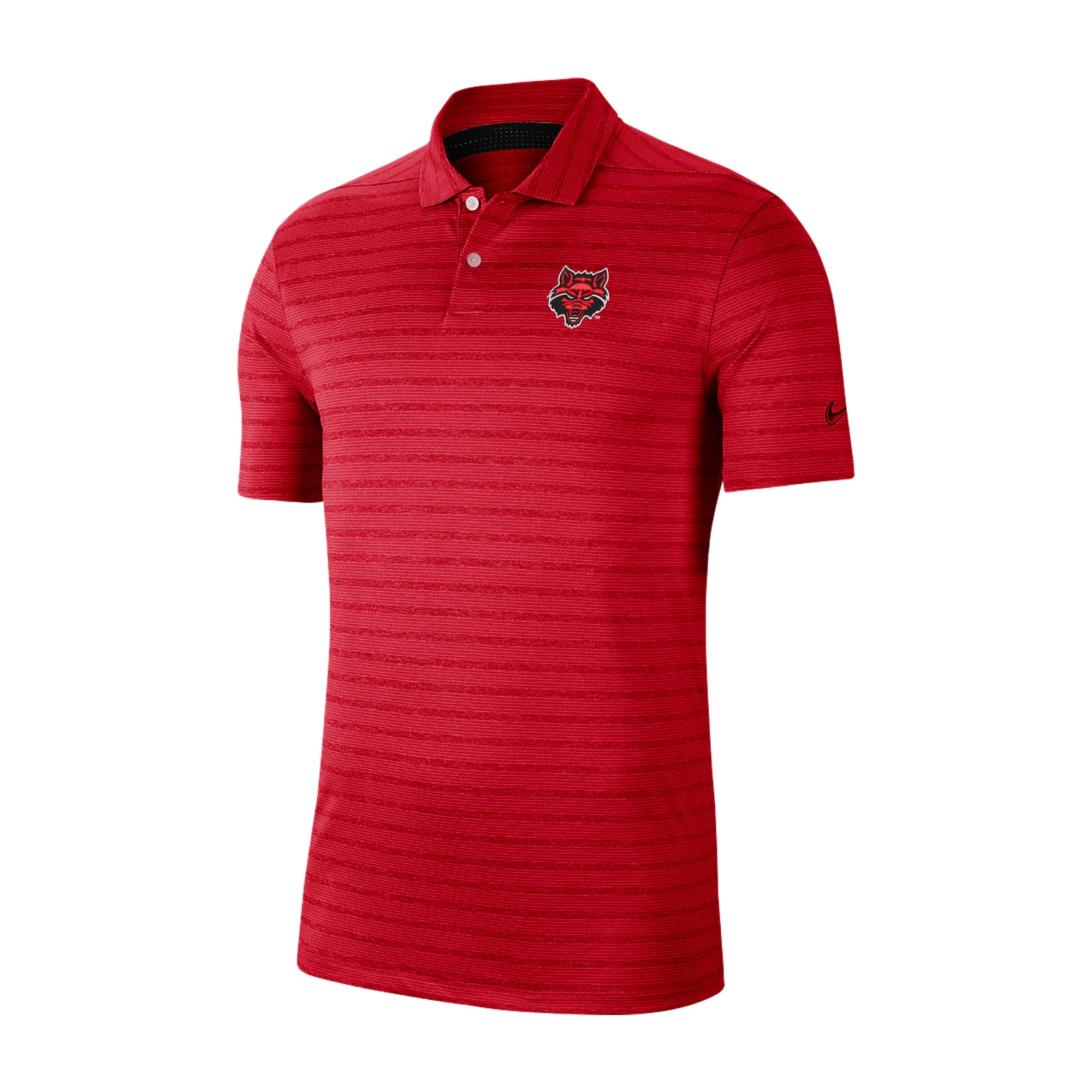 Red Wolves Vapor Stripe Polo
