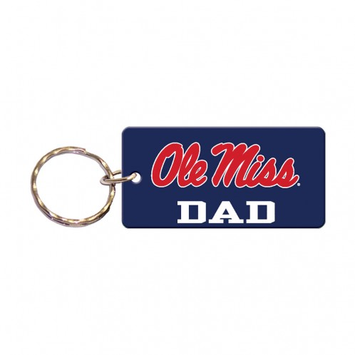 Rectangle Keychain Dad