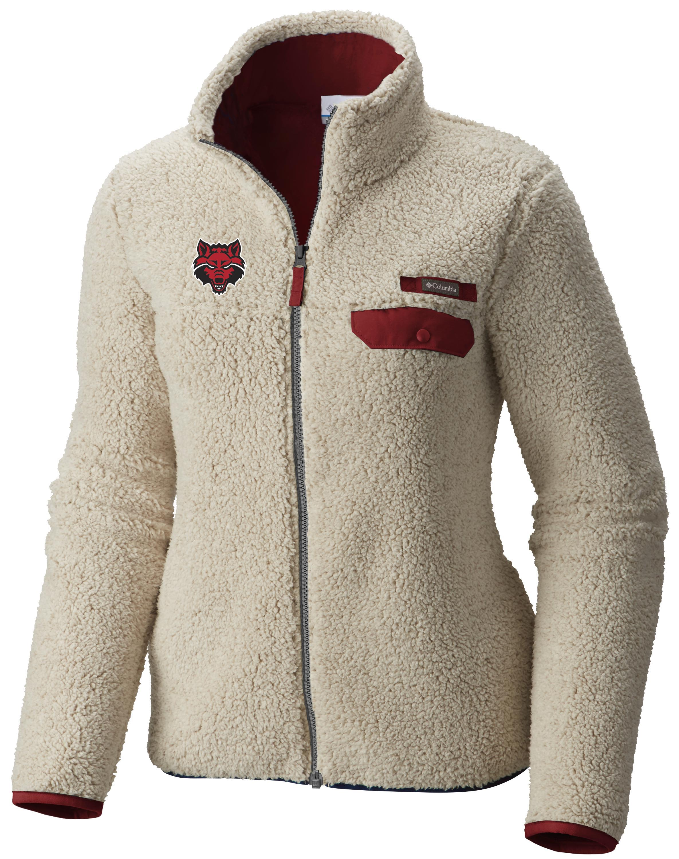 Red Wolves Mountain Side Fleece Jacket