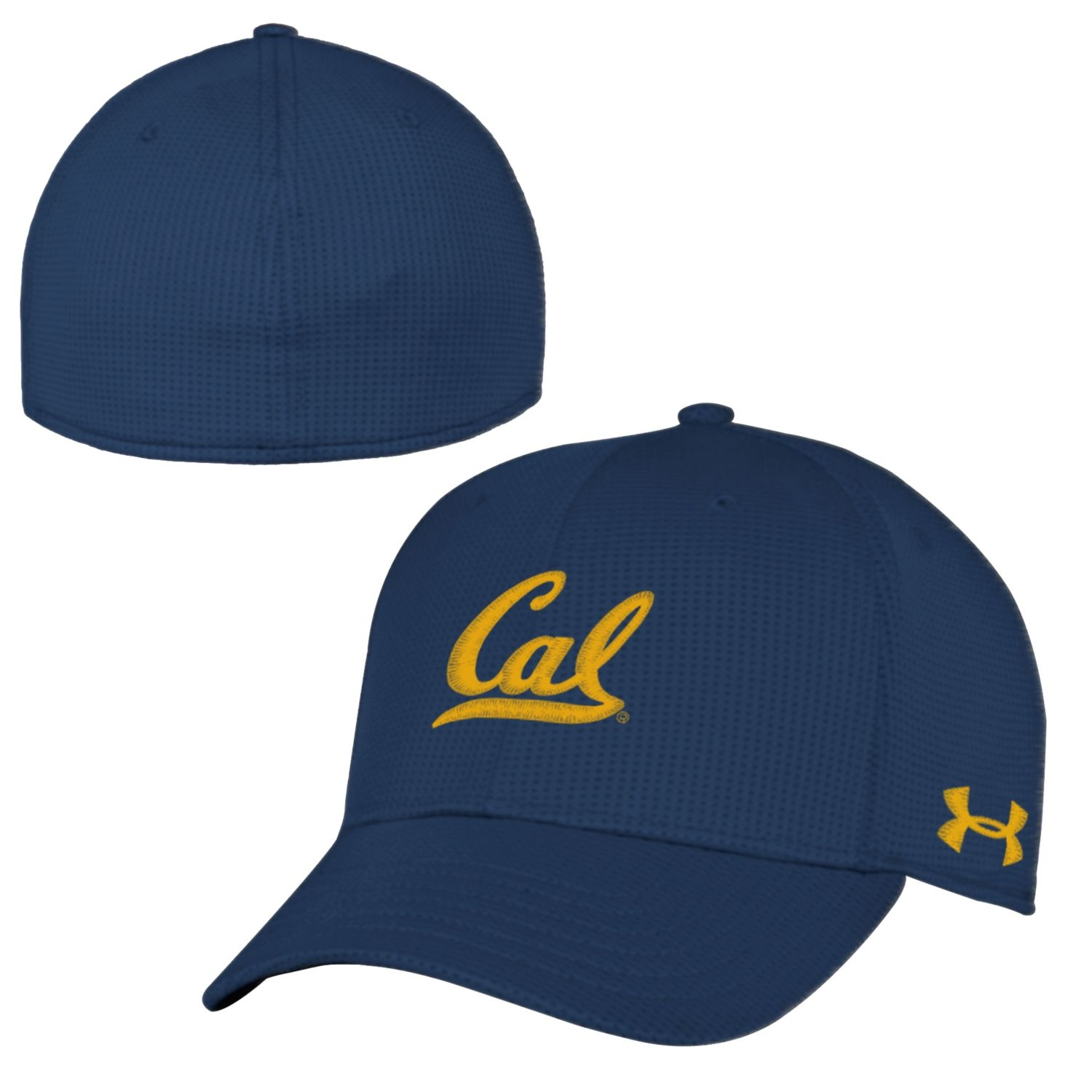 b122a568413d6 University of California Berkeley Under Armour Youth Blitzing Stretch Fit  Cap