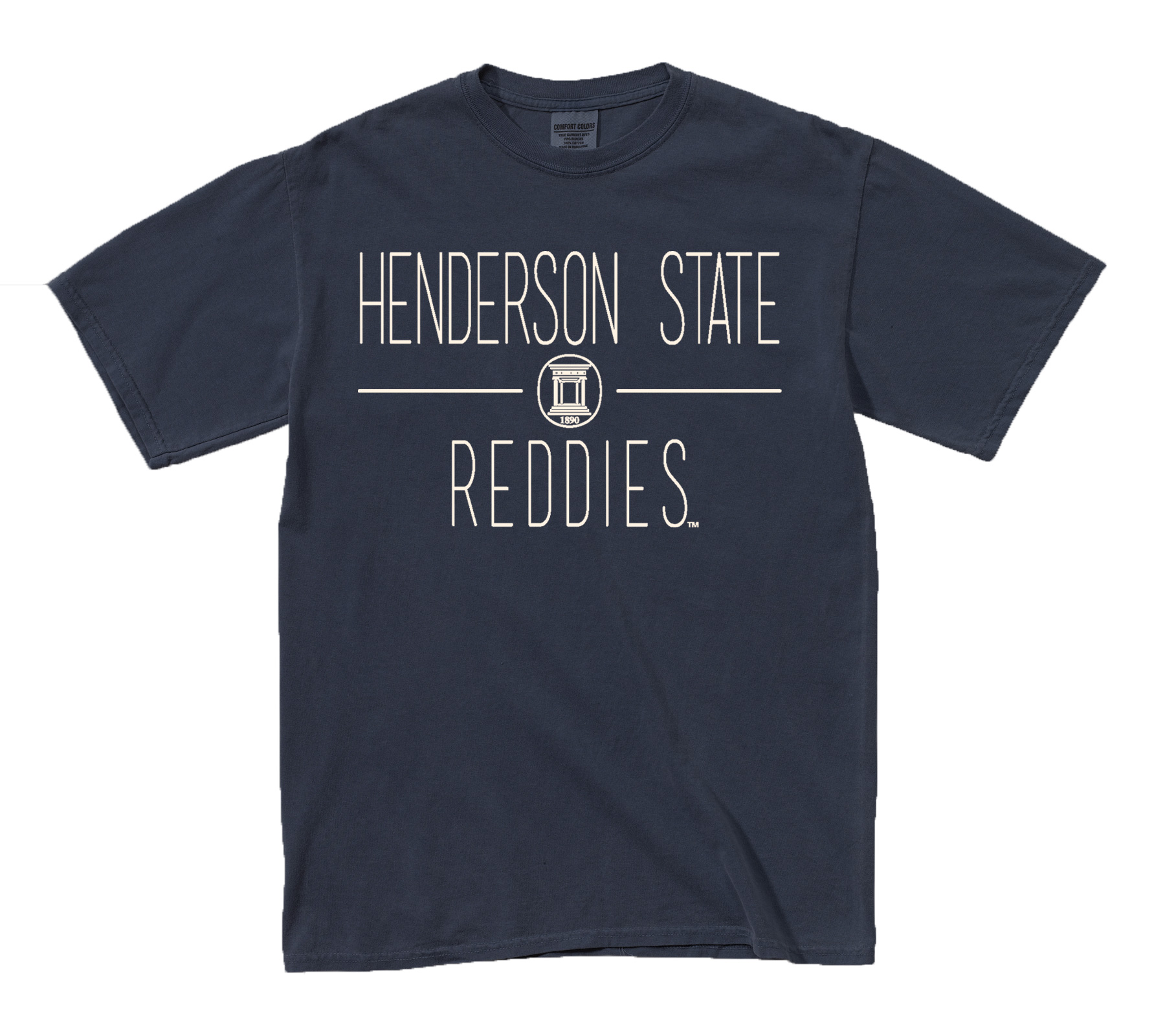Henderson State Reddies Comfort Colors T-shirt
