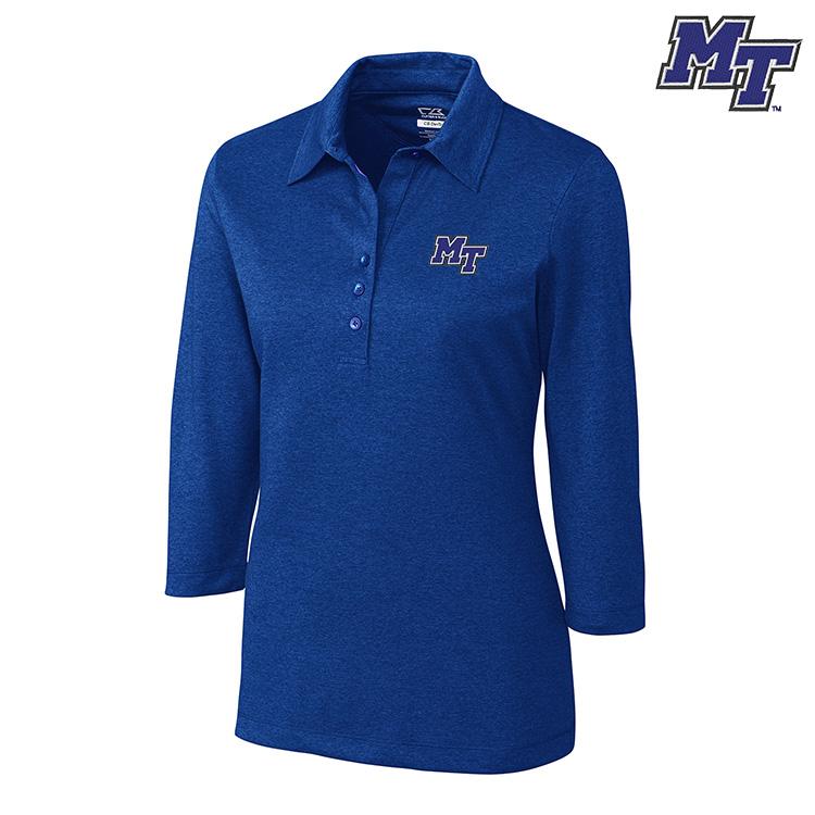 MT Logo Drytec 3/4 Sleeve Chelan Women's Polo