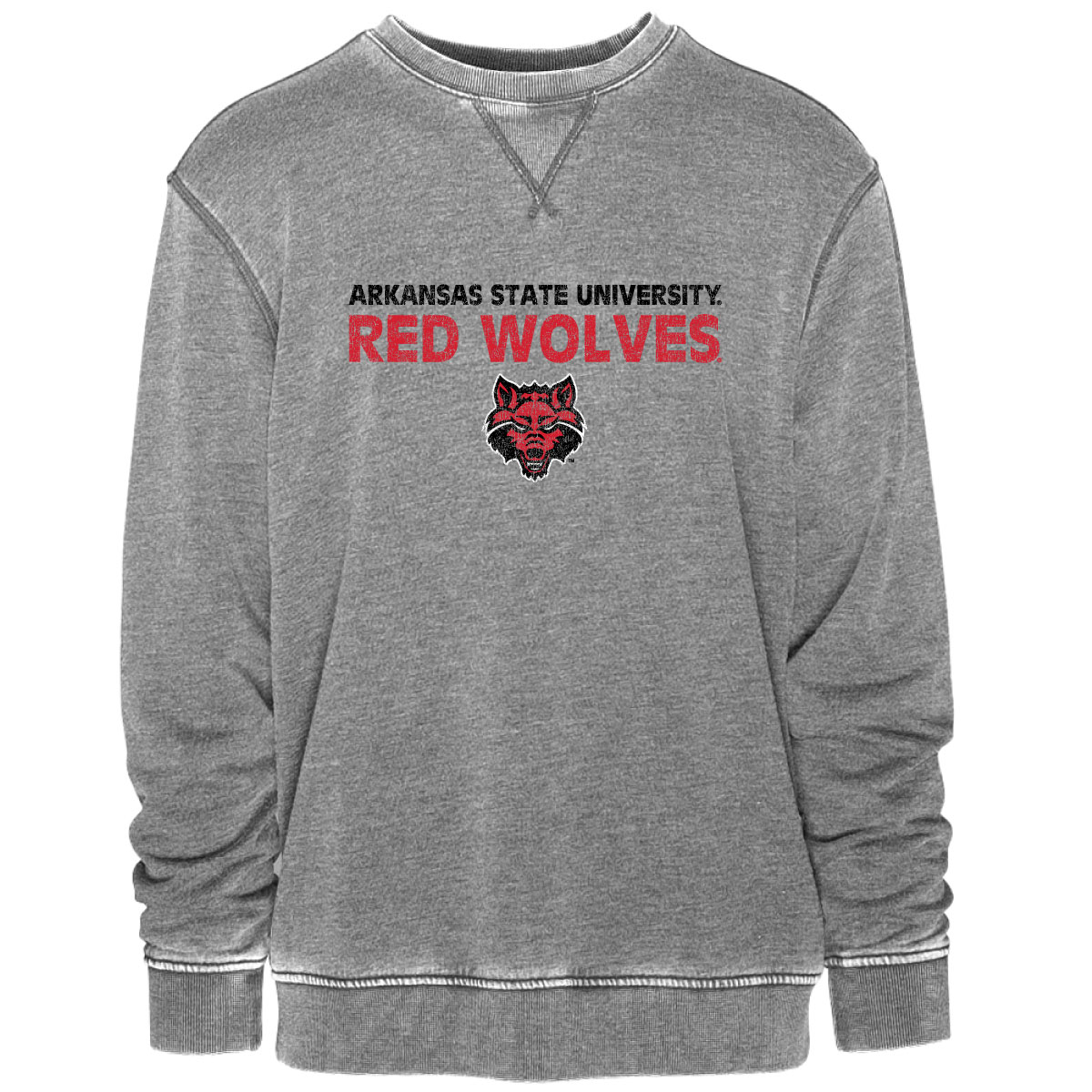 Red Wolves Vintage Crew