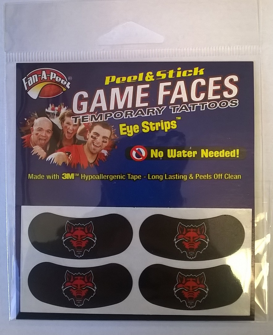 Arkansas State 4 Pair Eye Strip