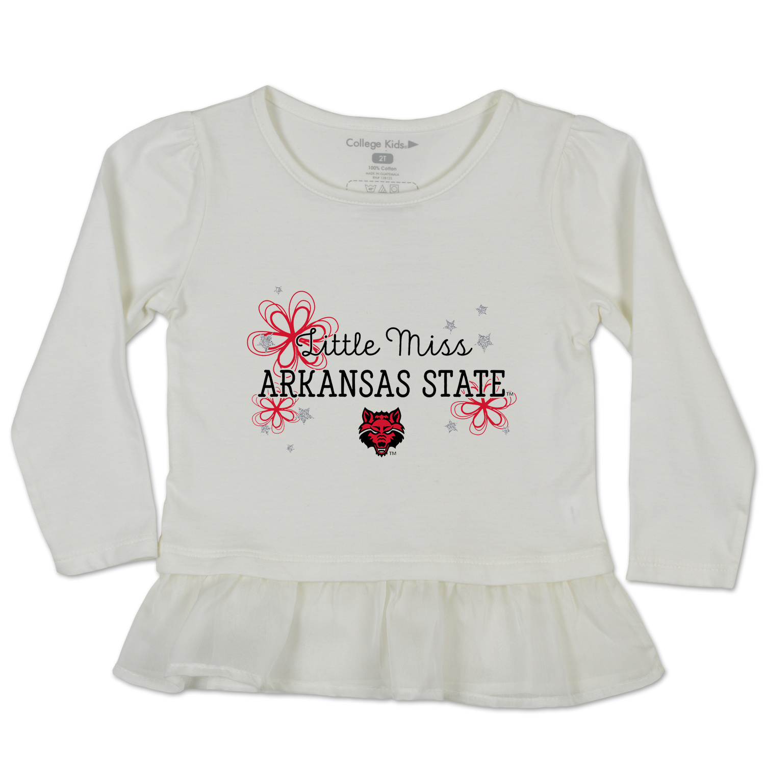 Little Miss Arkansas State Toddler Shirt