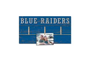 Blue Raiders Hanging Photo Board