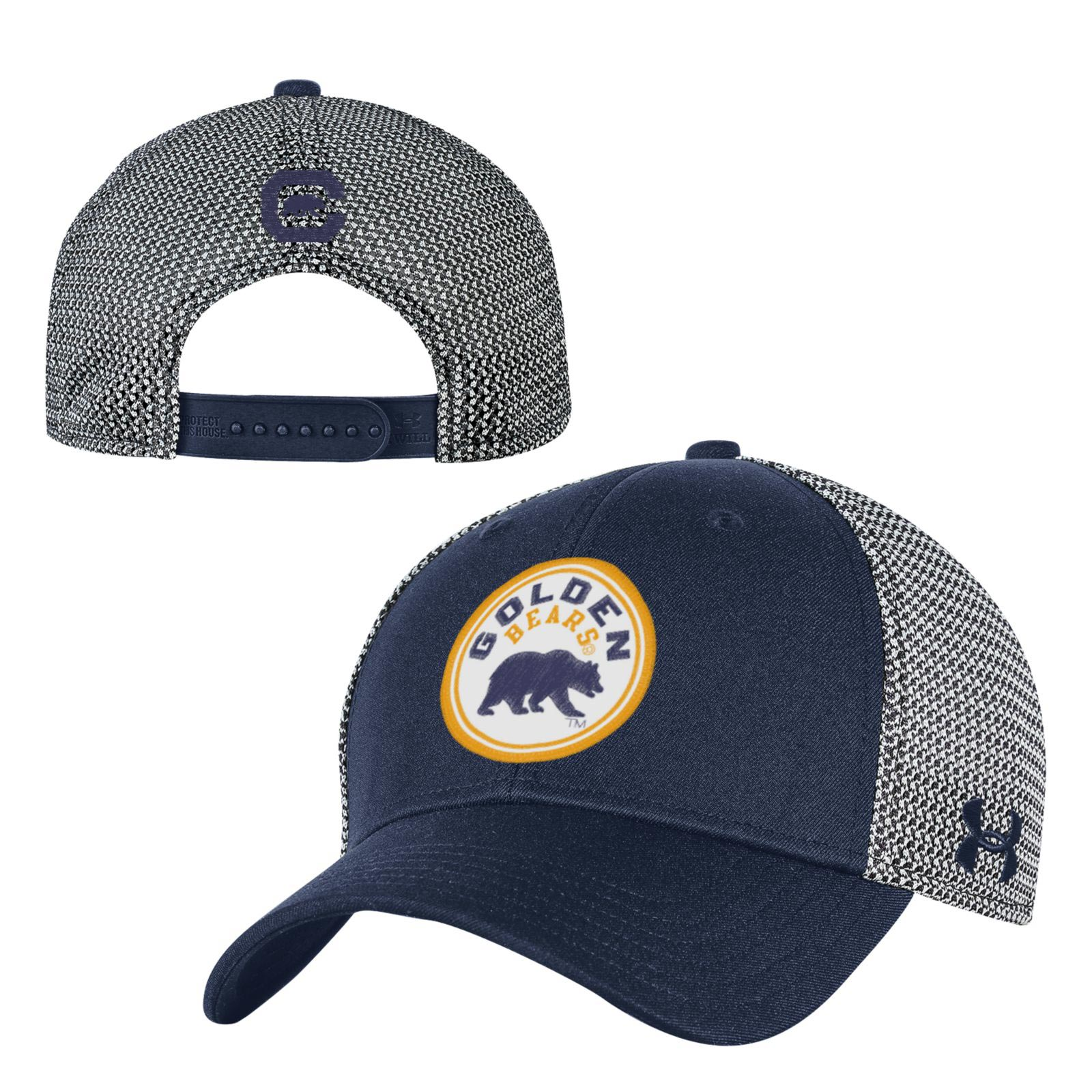 University of California Berkeley Under Armour Men's Mesh Knit Snapback