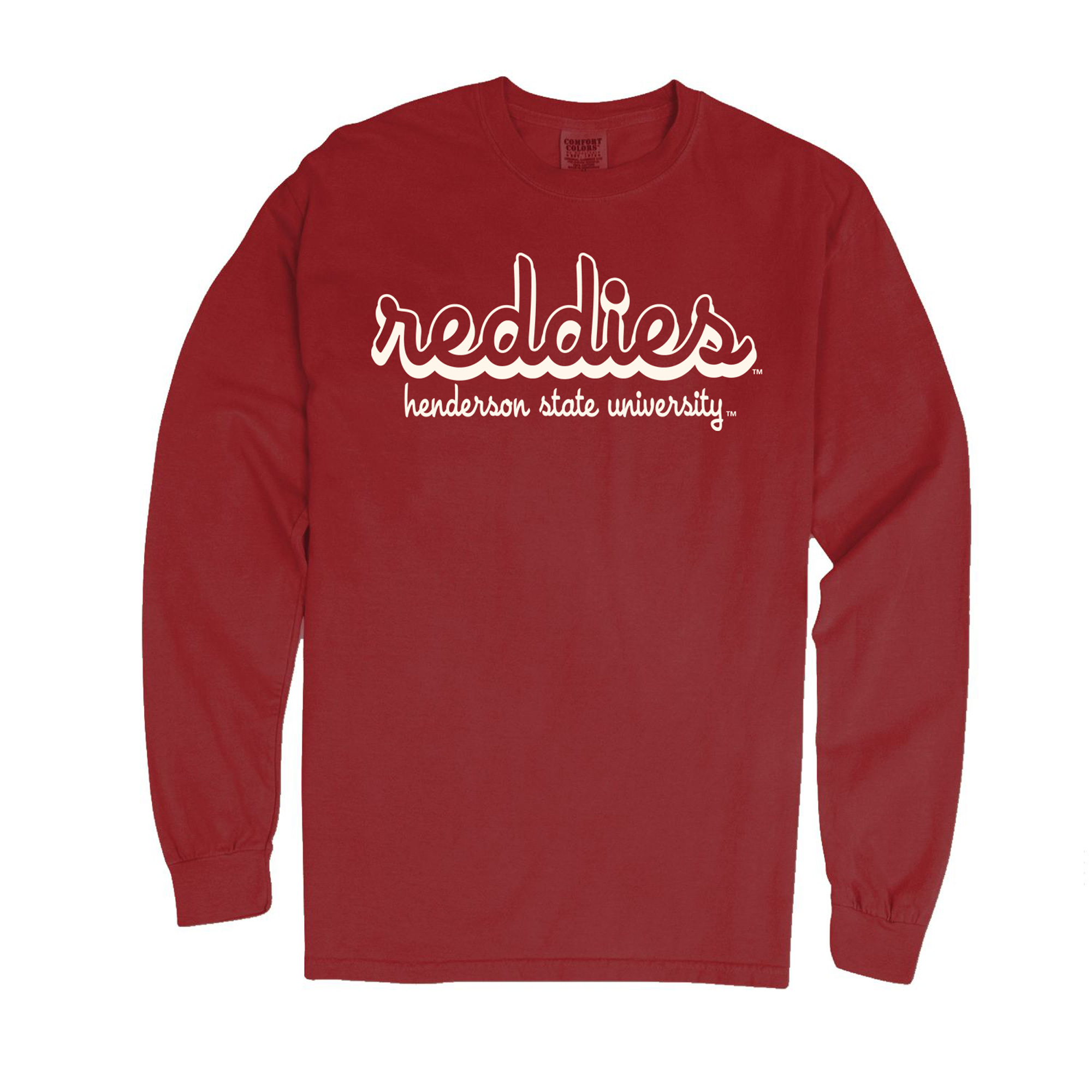 Reddies Henderson State University Comfort Colors Long Sleeve T-Shirt