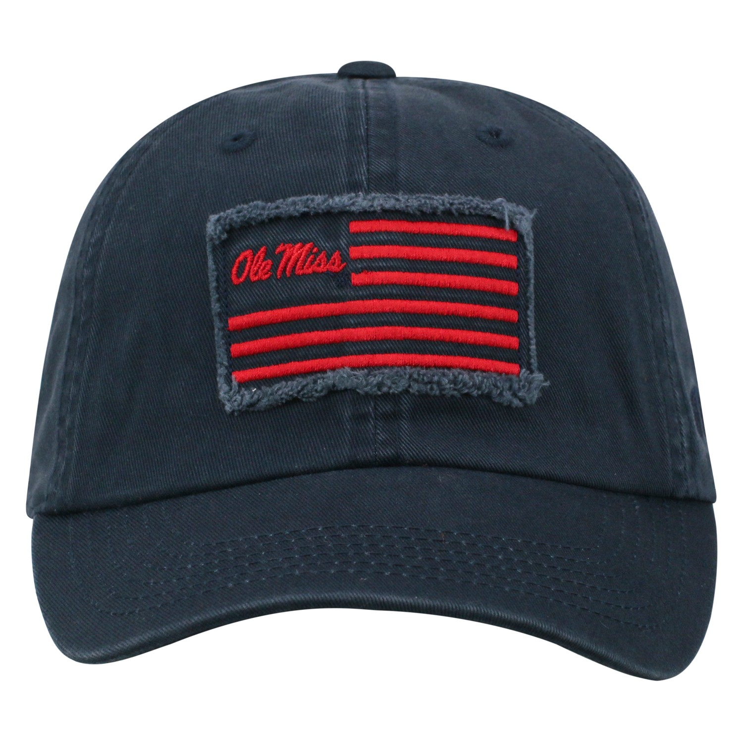 Flag Adjustable Hat Navy