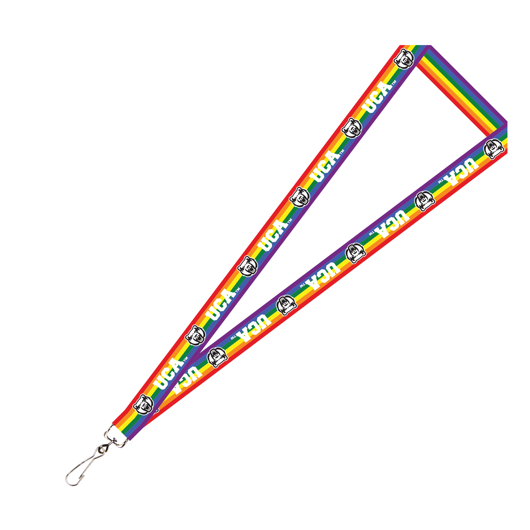 UCA Rainbow Lanyard