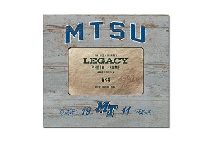 MTSU 1911 Natural 4 x 6 Picture Frame