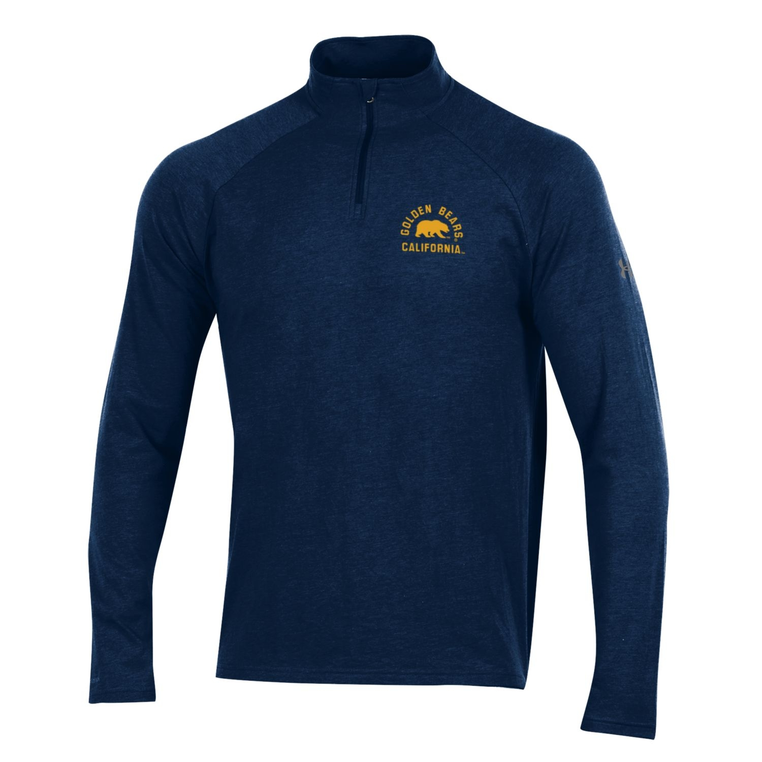 Cal Bears Under Armour F18 Men's Charged Cotton 1/4 Zip