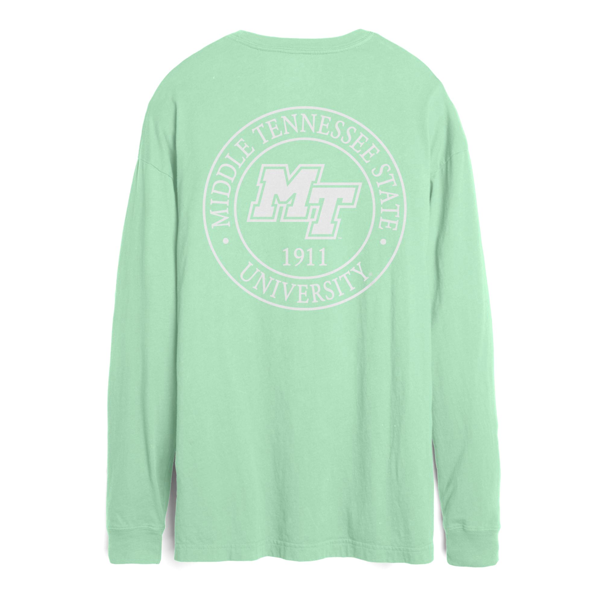 MT Est. 1911 Boyfriend Women's Long Sleeve Shirt