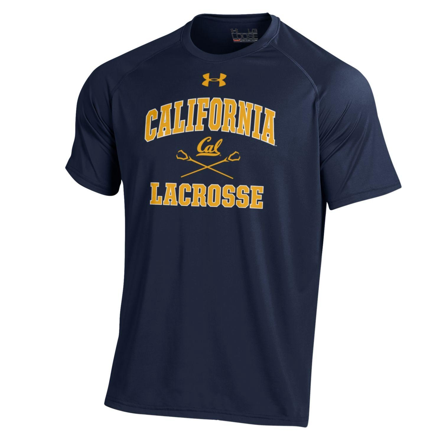 Cal Bears Under Armour Men's NuTech Tee SS Lacrosse