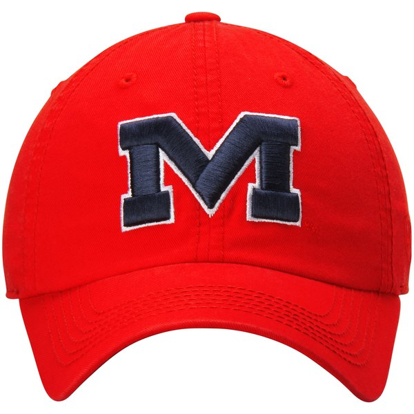 Crew Adjustable Red M Hat