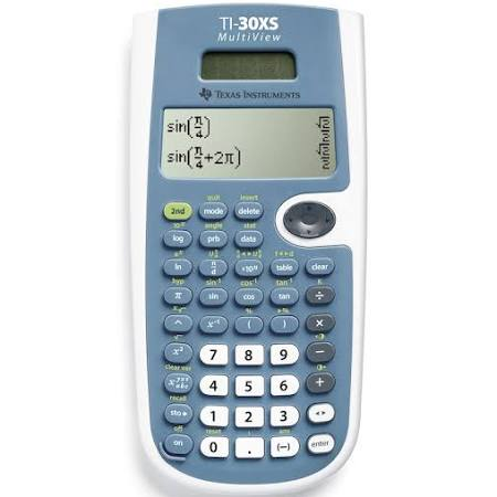 TI-30XS Scientific Calculator