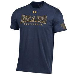 Cal Bears Under Armour Men's Performance Cotton SS Tee 'Bears'