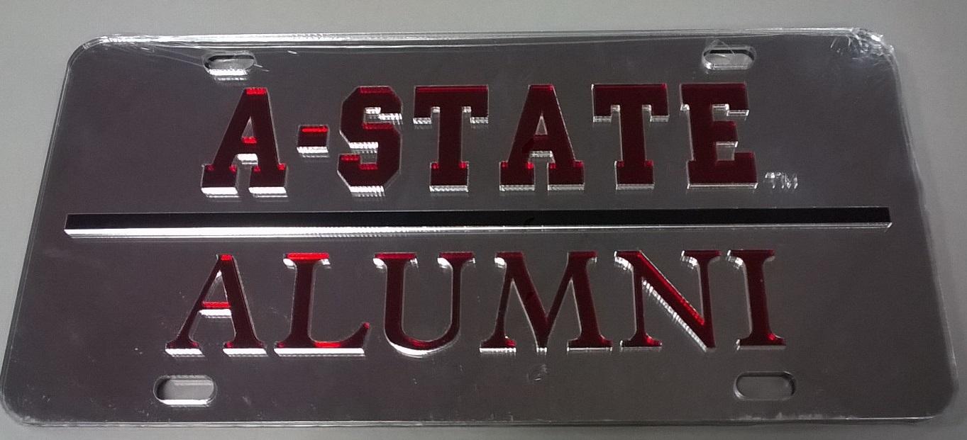 Arkansas State Alumni Plate