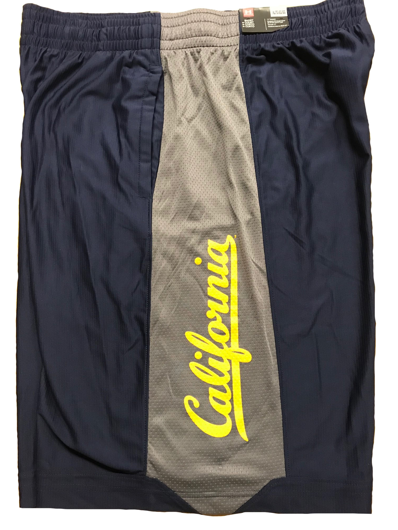 Cal Bears Men's Isolation Shorts by Under Armour