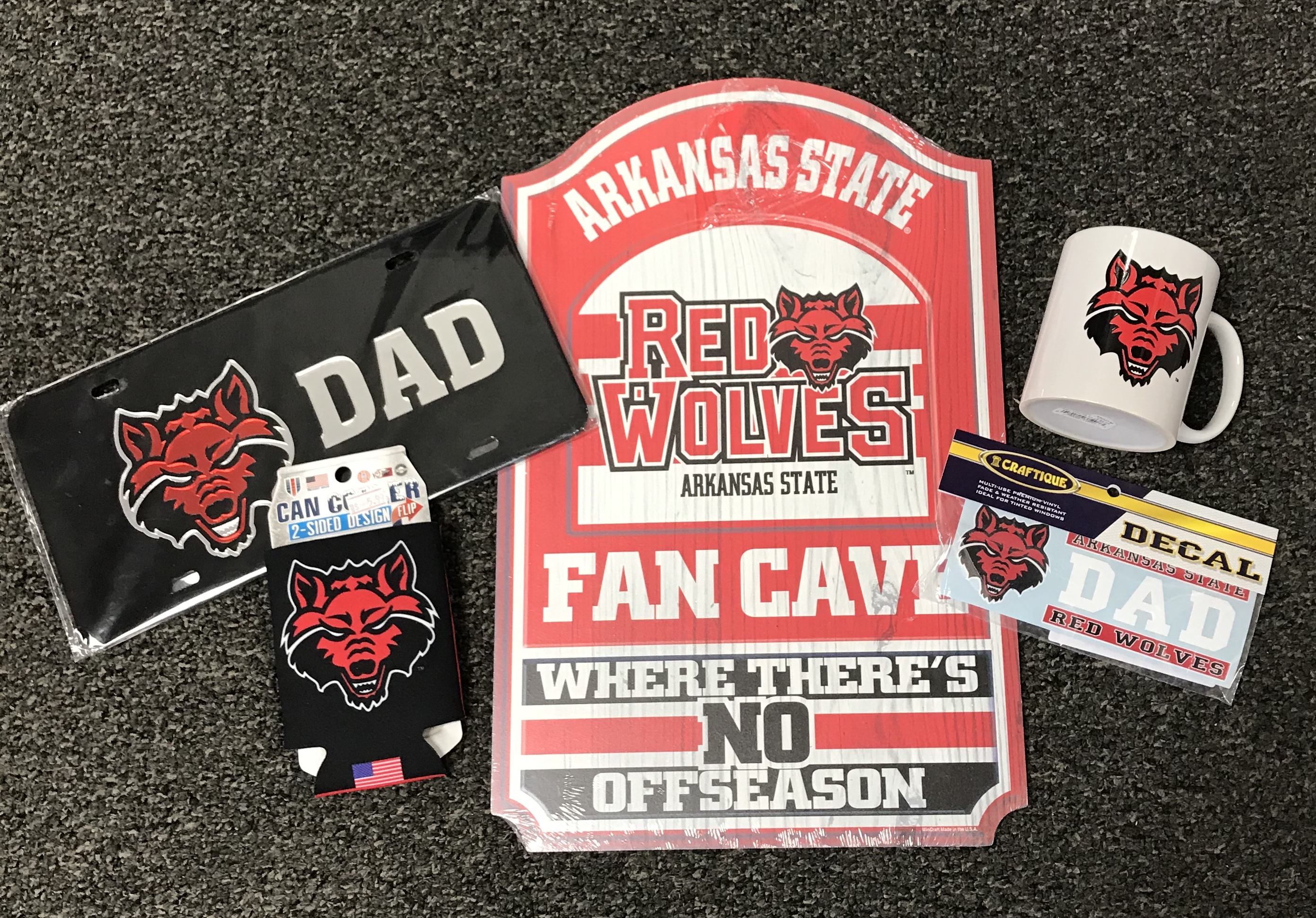 Red Wolves Dad Gift Pack #2