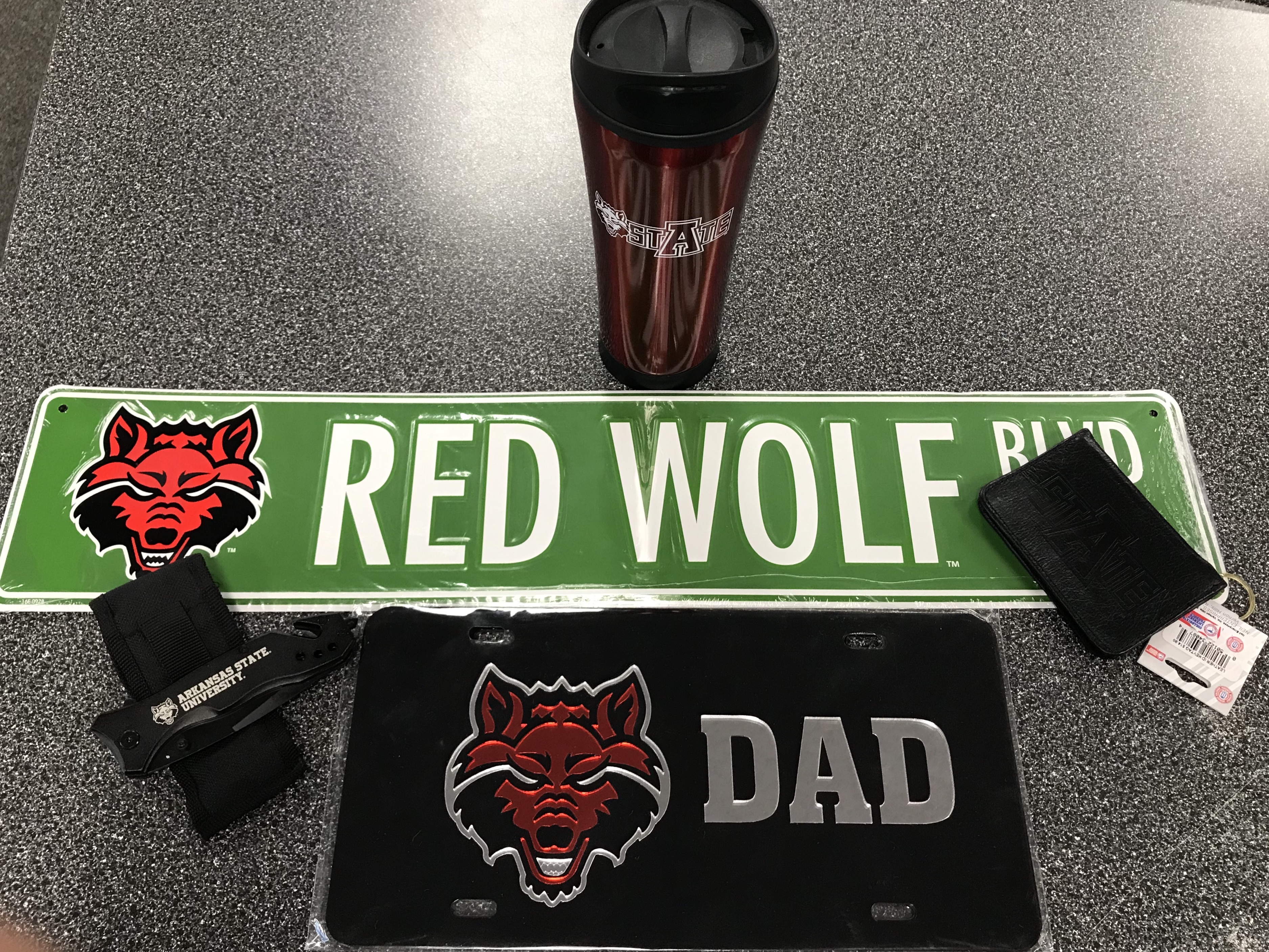 Red Wolves Dad Gift Pack #3
