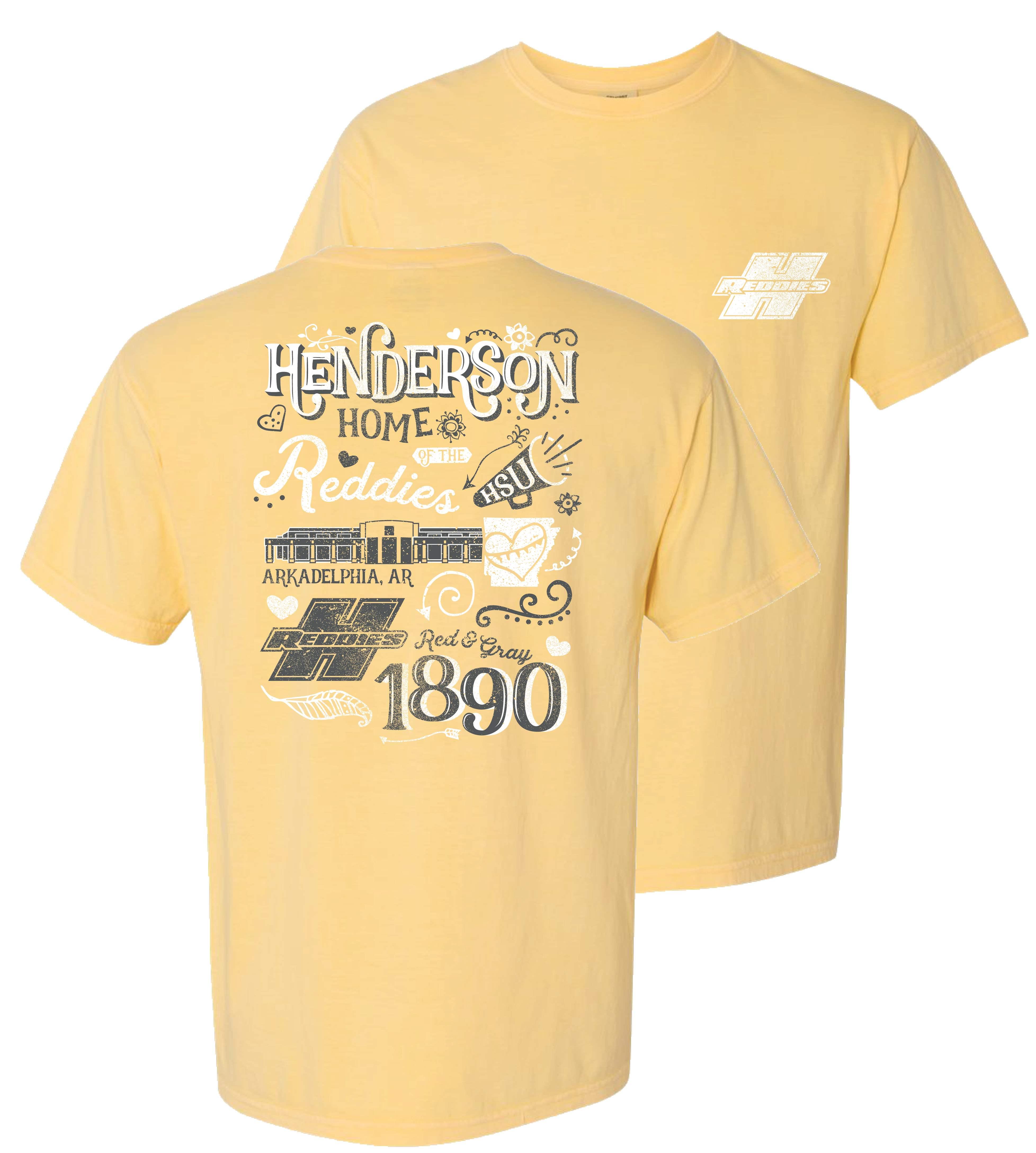 Reddies Comfort Color Crew Neck Short Sleeve T-Shirt
