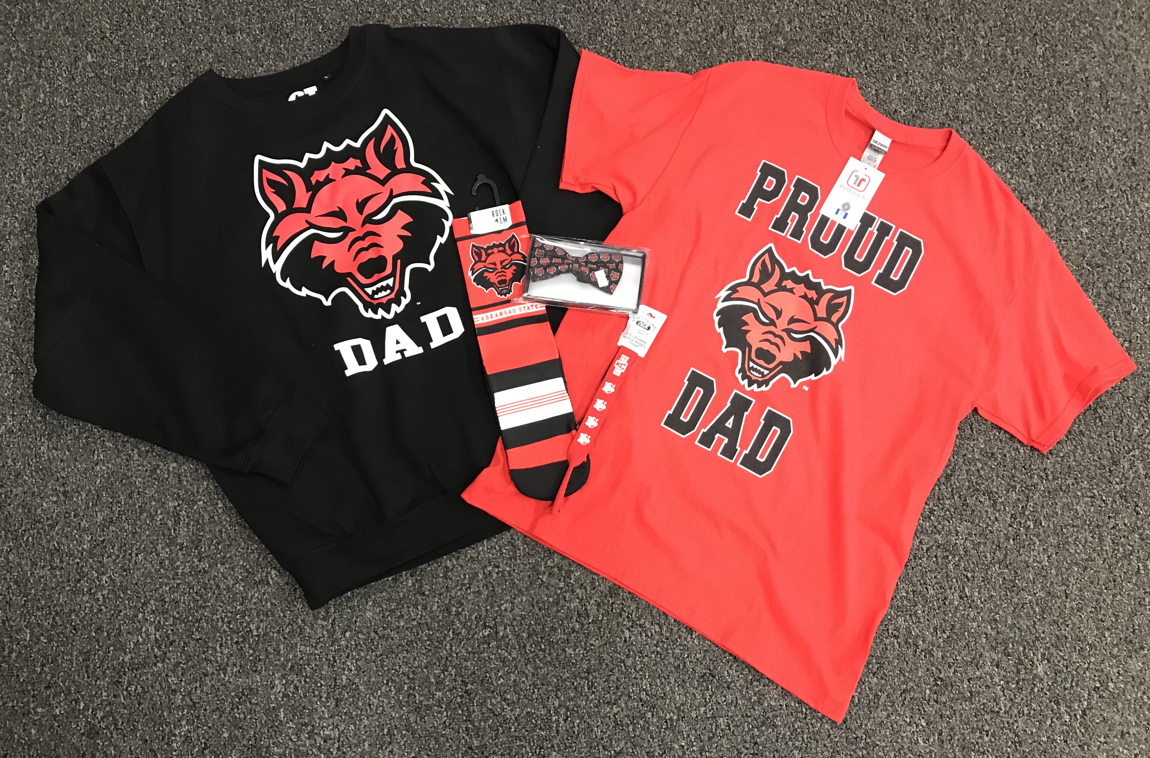 Red Wolves Dad Gift Pack #4