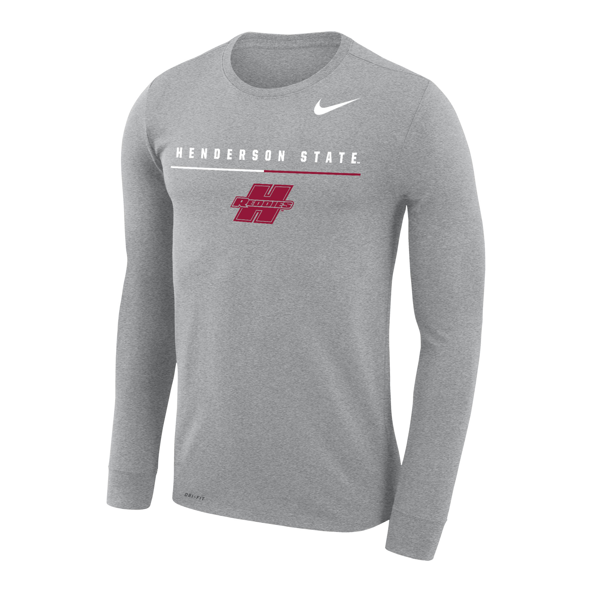 Henderson State Reddies Men's Legend Long Sleeve Tee
