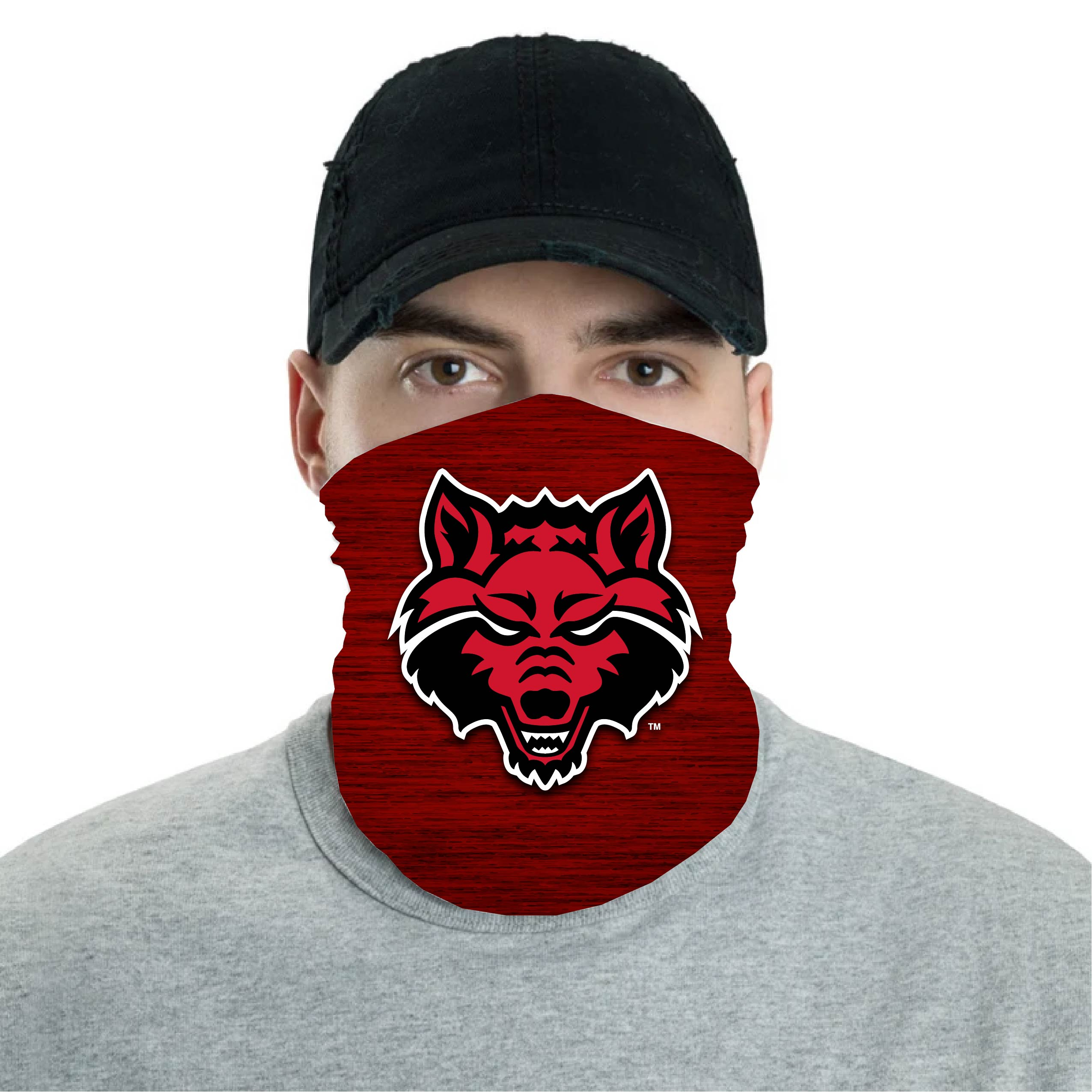 Red Wolves Neck Gaiter