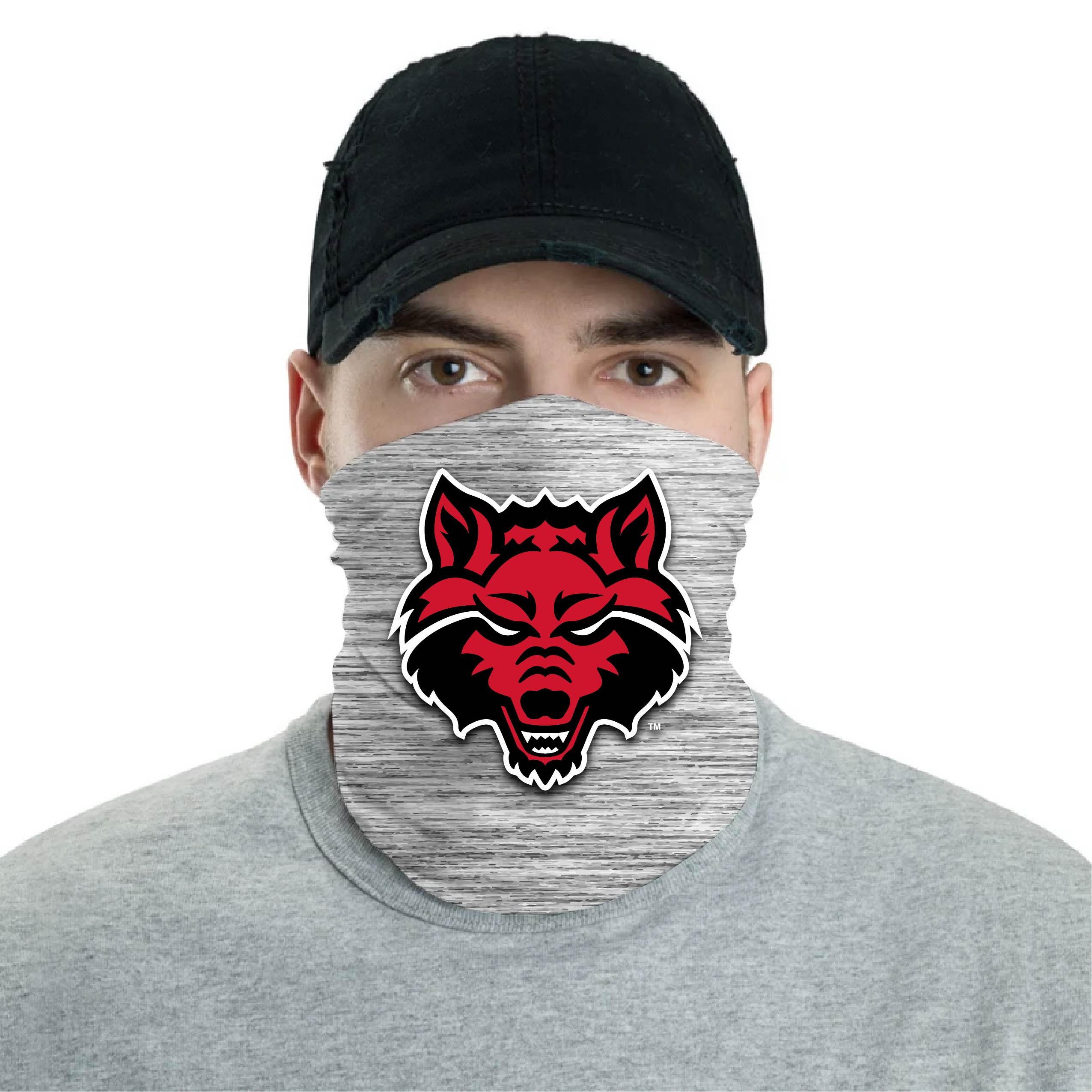 Red Wolves Neck Gaiter