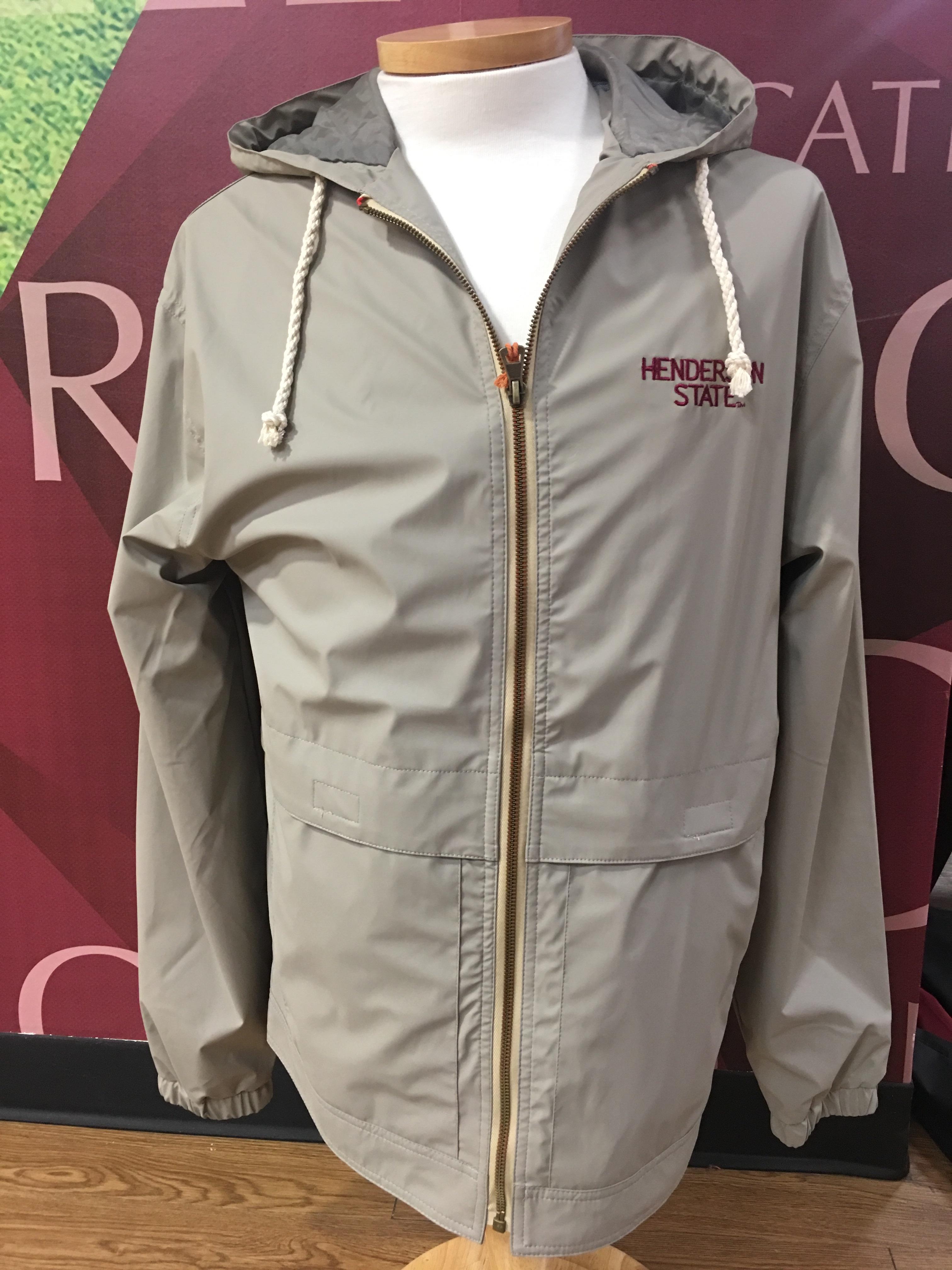 Henderson State Vintage Hooded Rain Jacket