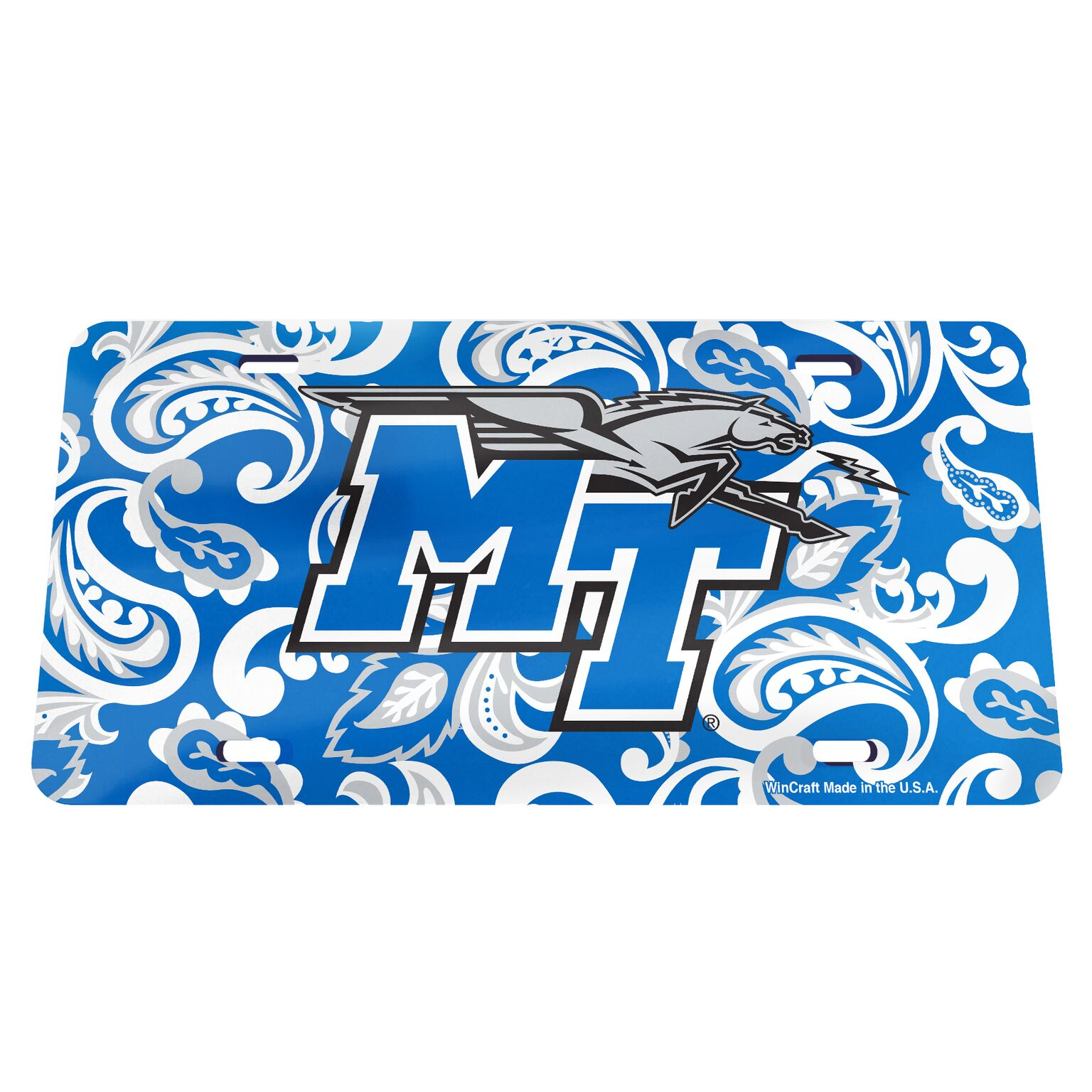 Paisley MT Logo License Plate