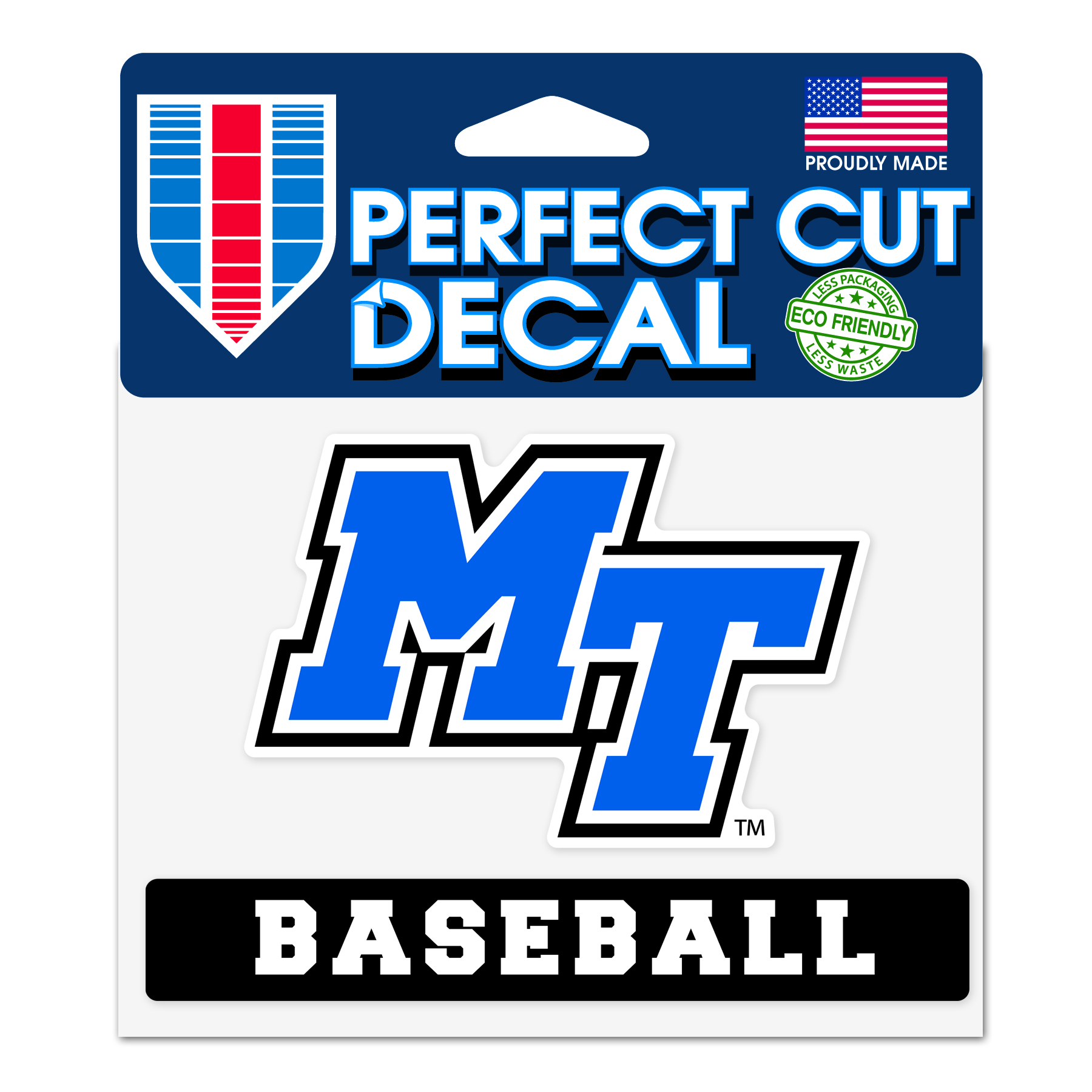 MT Baseball Slogan Decal
