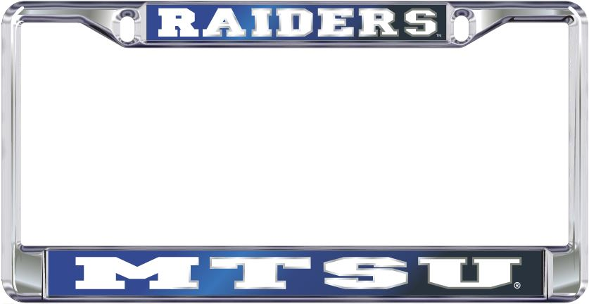 Raiders MTSU License Plate Frame