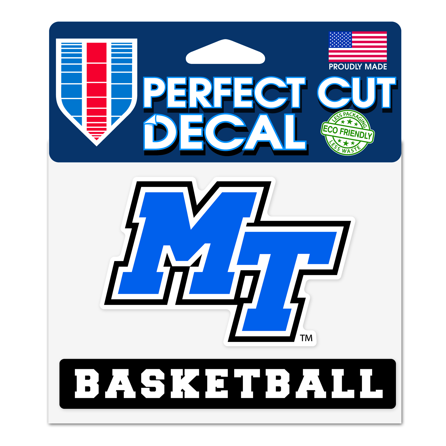 MT Basketball Slogan Decal