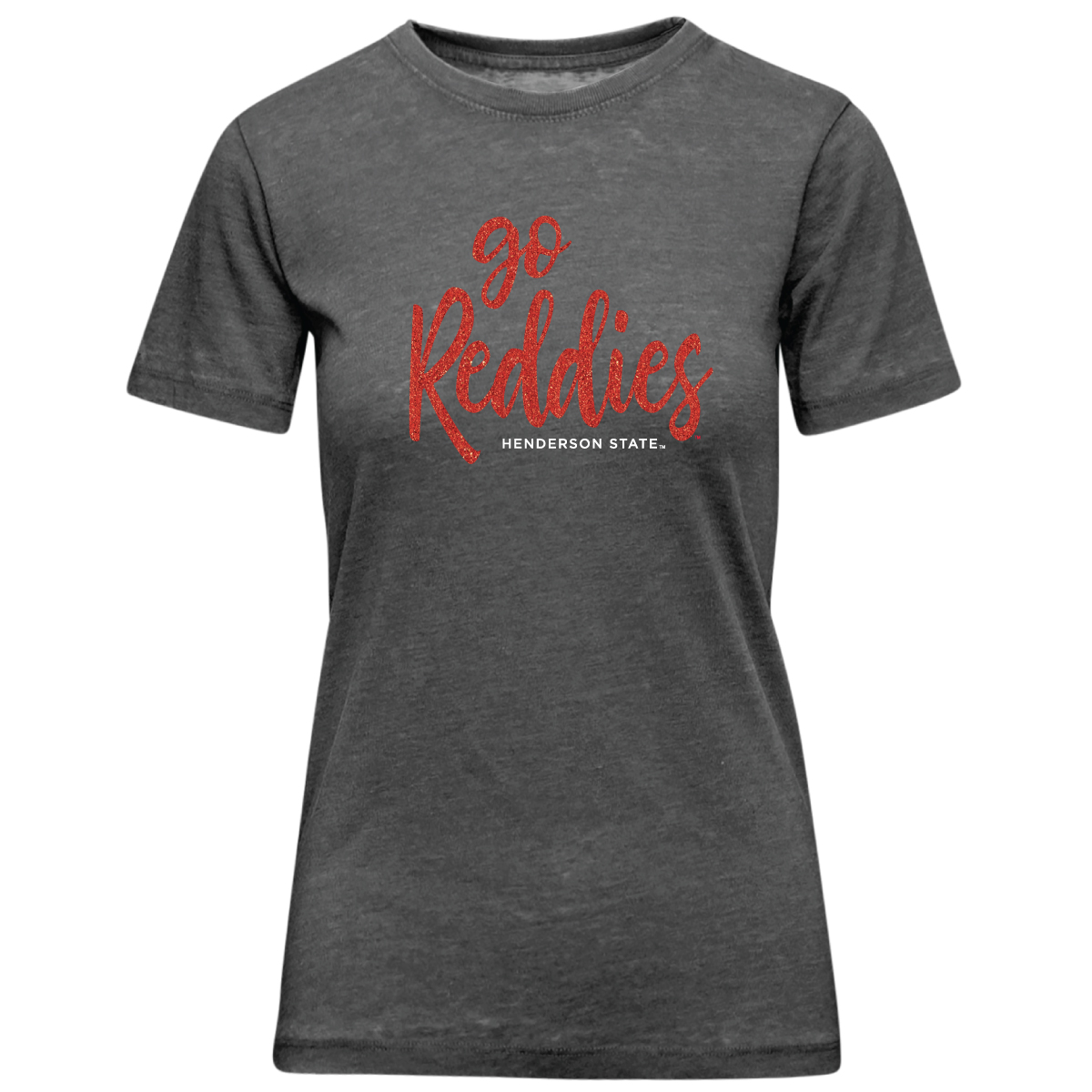 Go Reddies Henderson State Sparkle Encore Short Sleeve T-Shirt
