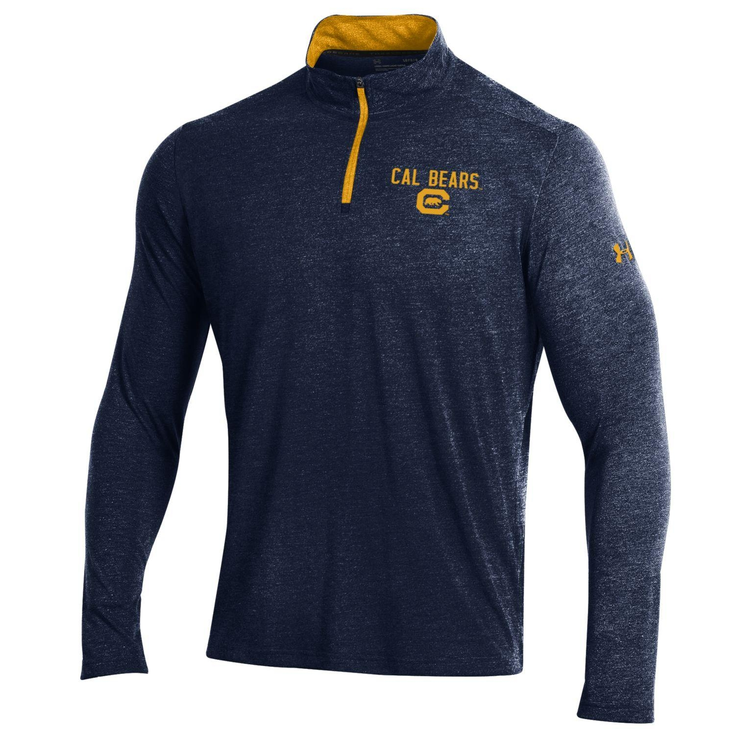 University of California Berkeley Under Armour Men's Threadborne 1/4 Zip