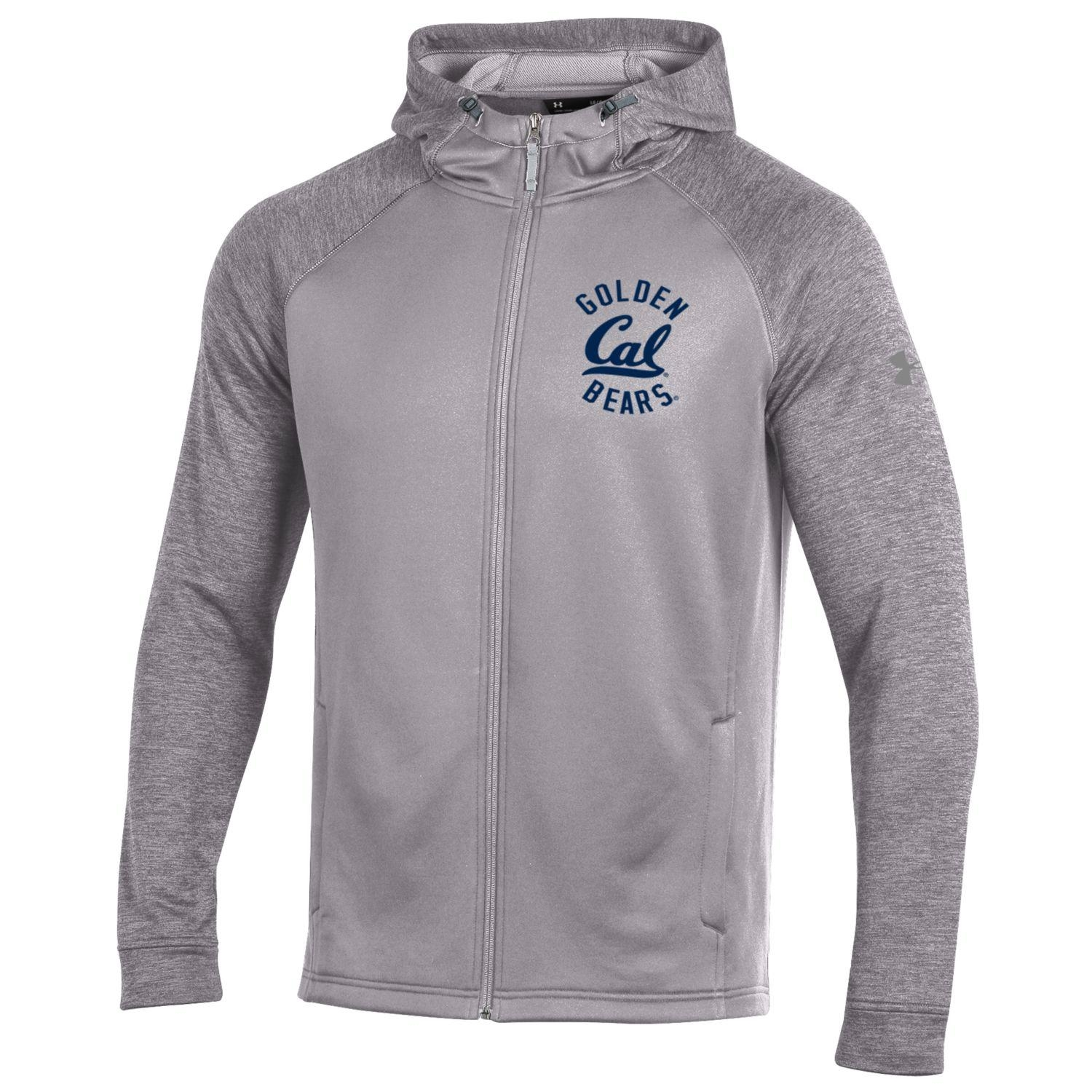 MD25-University of California Berkeley Under Armour Threadborne Tech Terry FZ