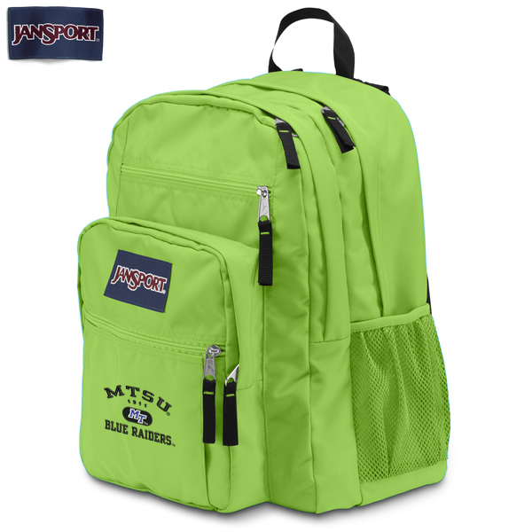 MT Blue Raiders Big Student Backpack