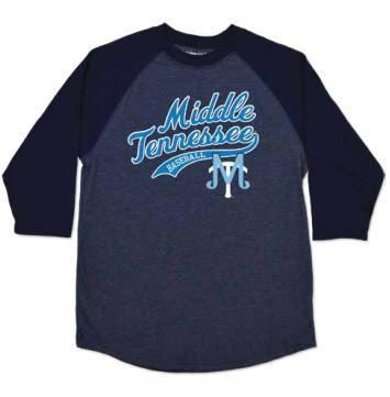 MT Baseball Youth Home Run Raglan Shirt
