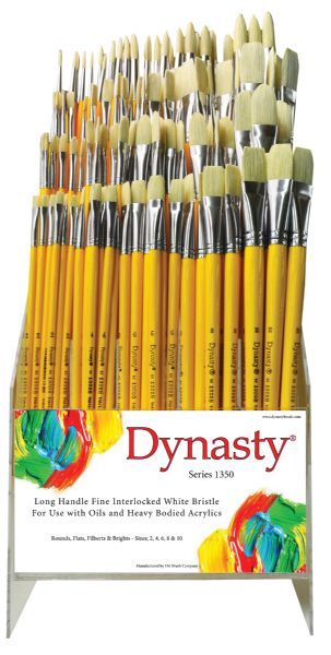 Dynasty 1350 Long Handle Bristle Brushes