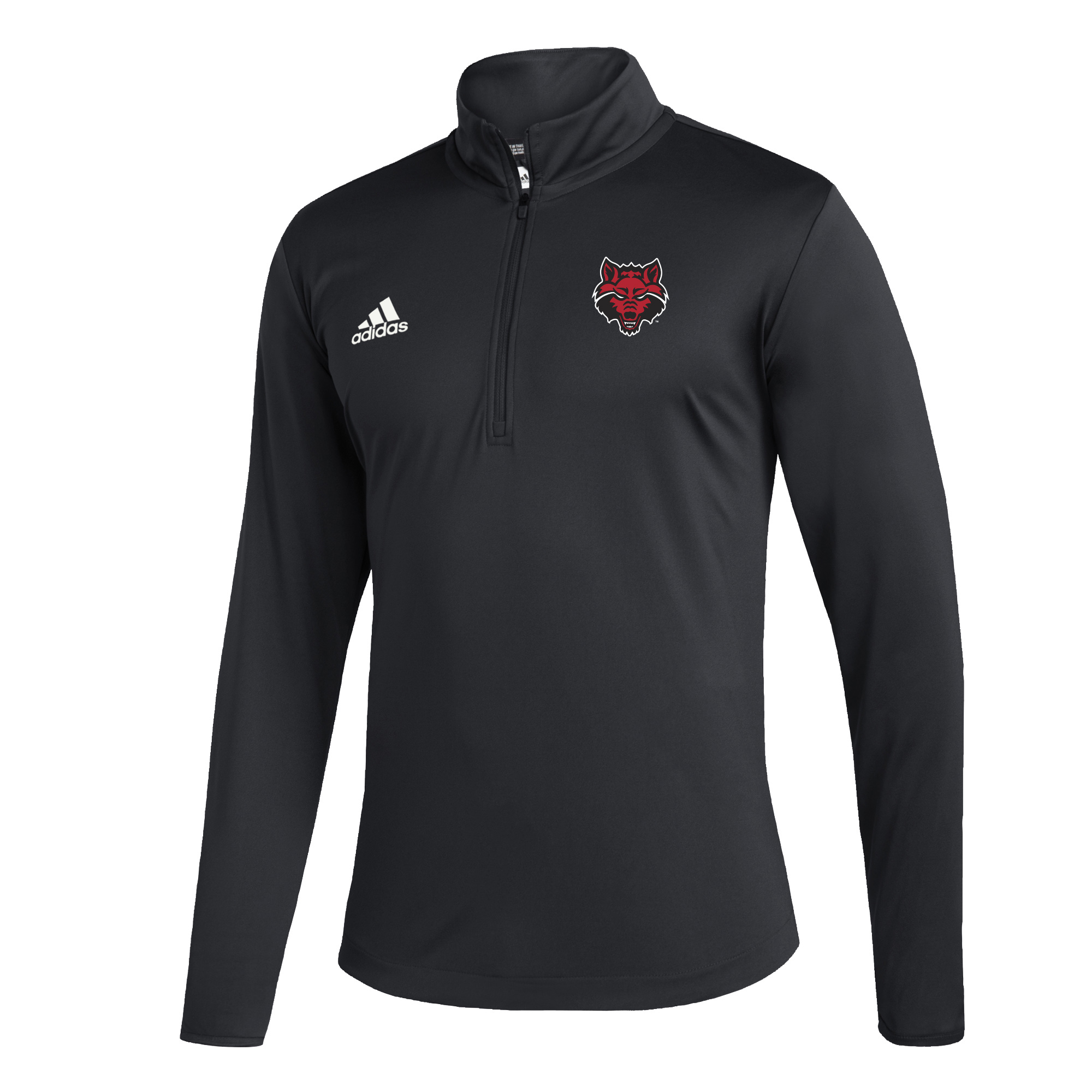 Red Wolves Under the Lights LS Knit 1/4 Zip