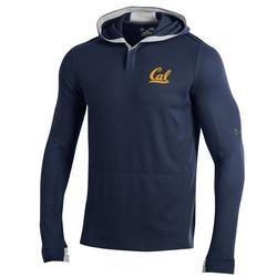 University of California Berkeley Under Armour  SMU Waffle Hoodie Script Cal Logo