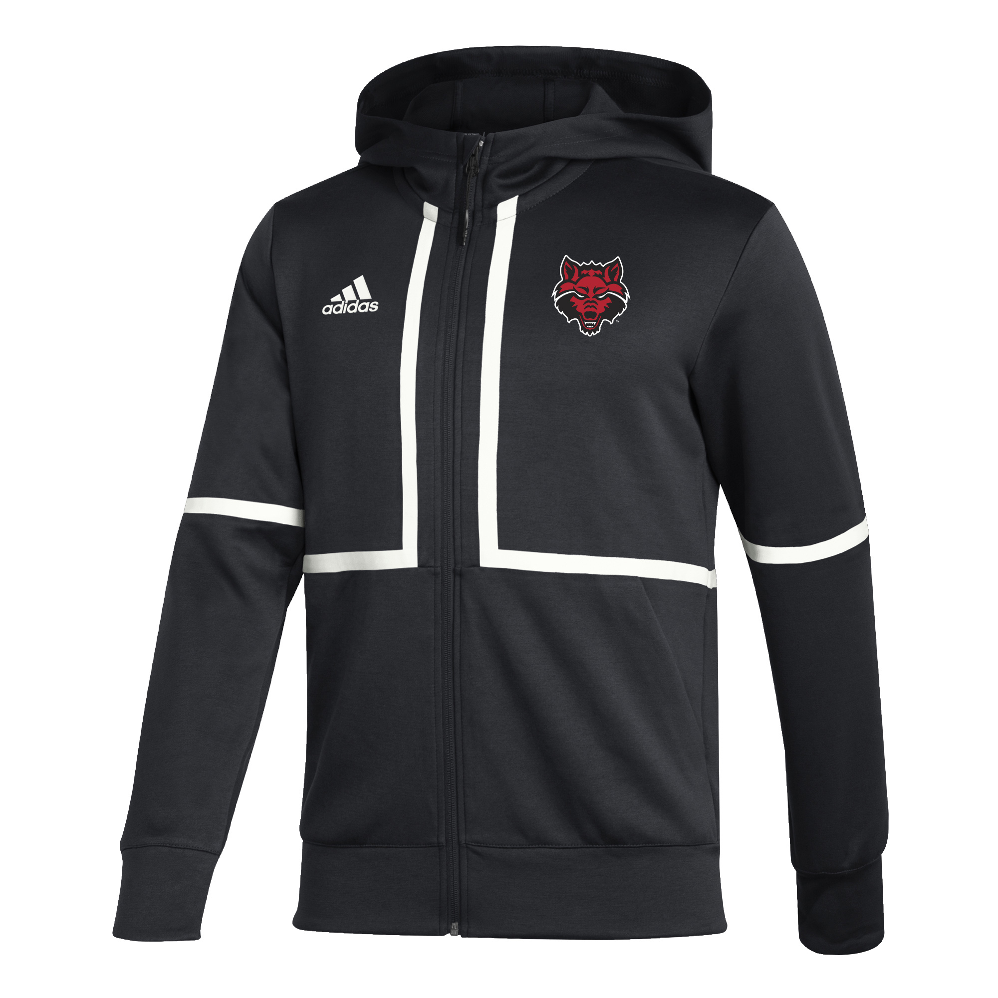 Red Wolves Under the Lights Full Zip Jacket