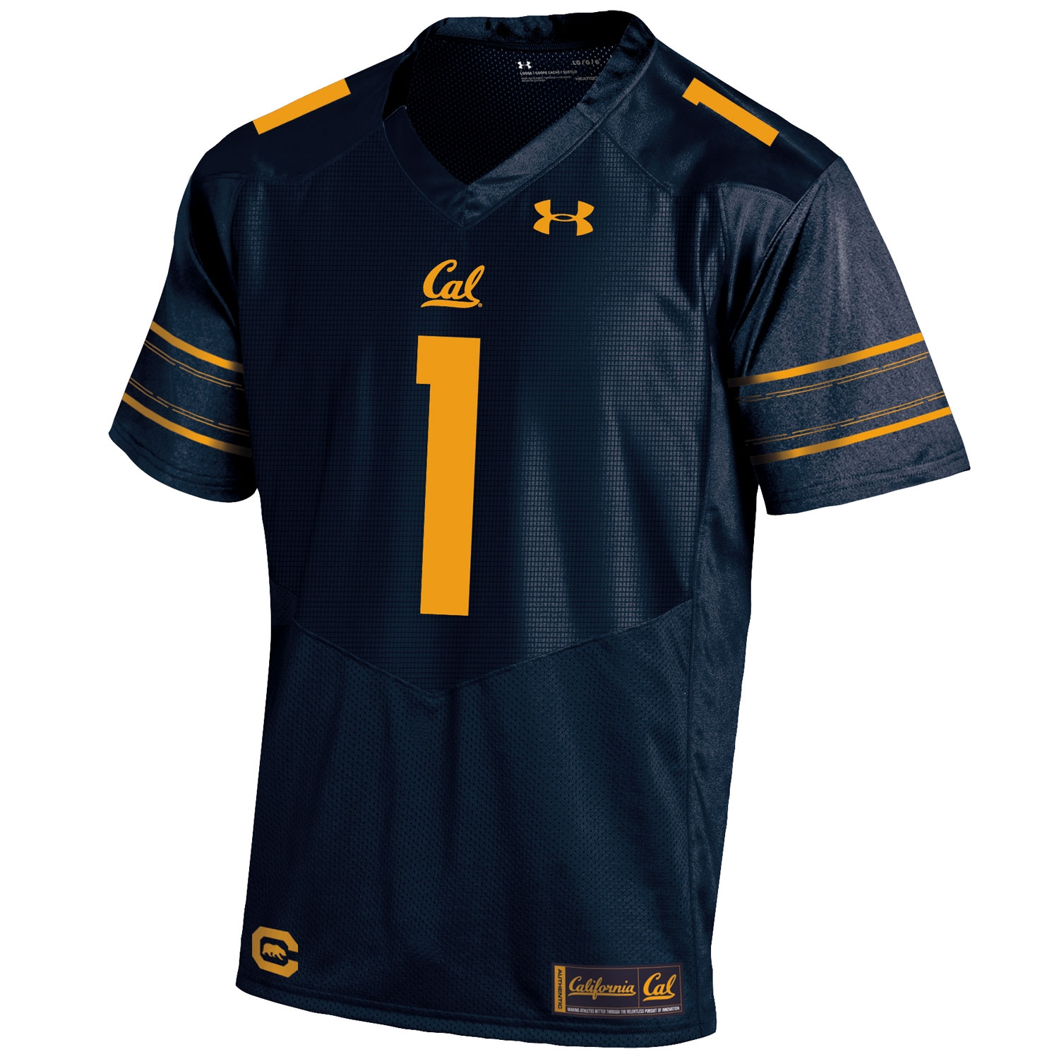 University of California Berkeley Under Armour Sideline Replica Football Jersey