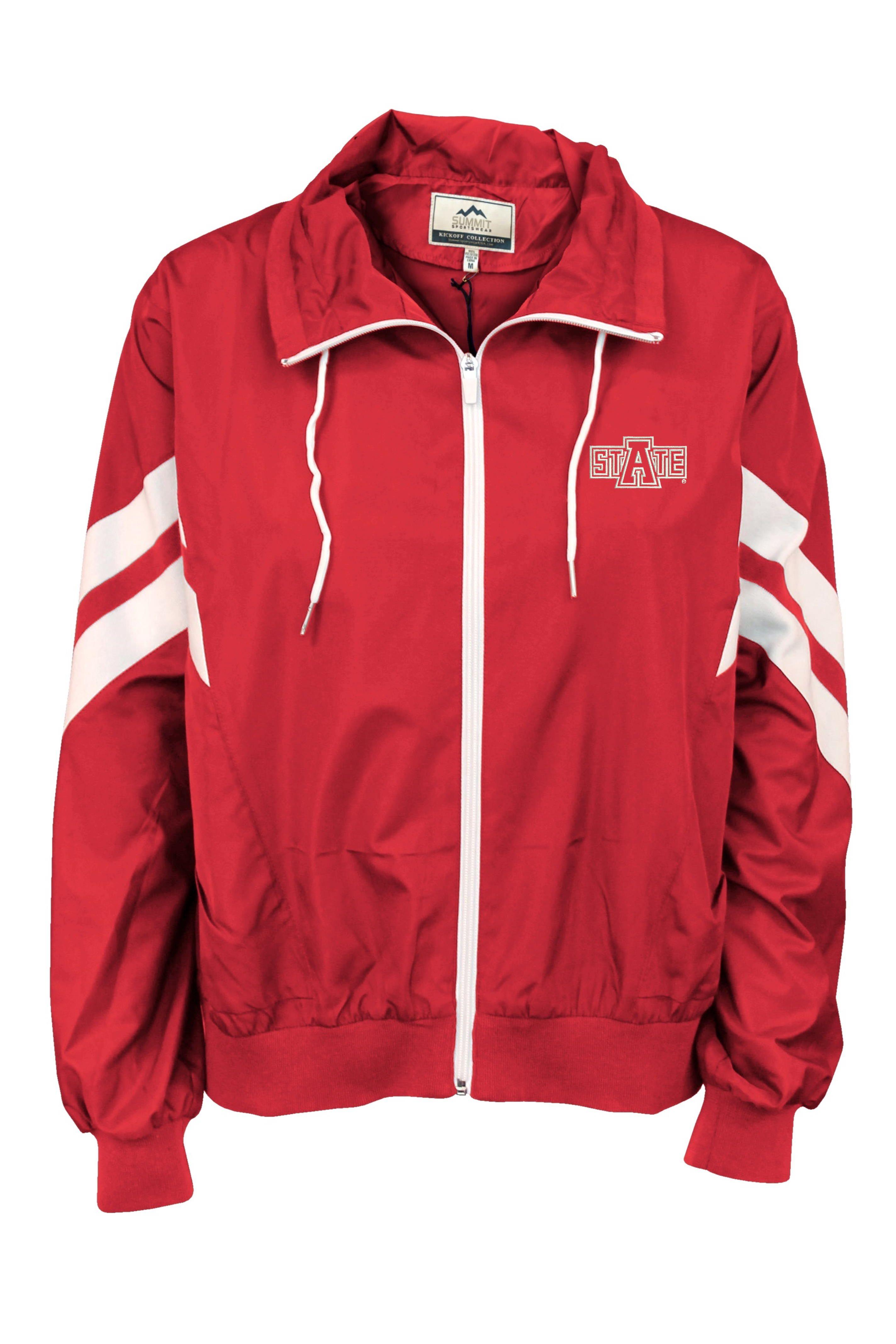 Arkansas State Full Zip Rain Jacket